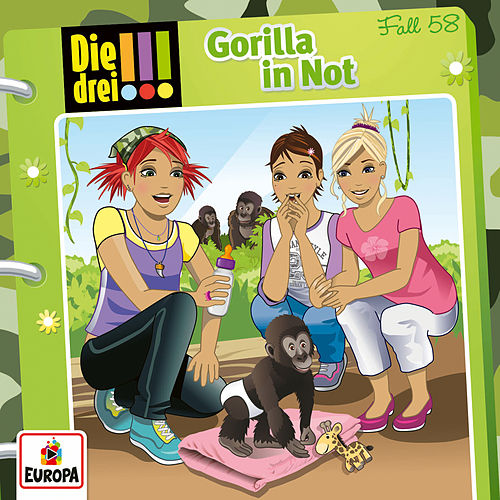 058/Gorilla in Not
